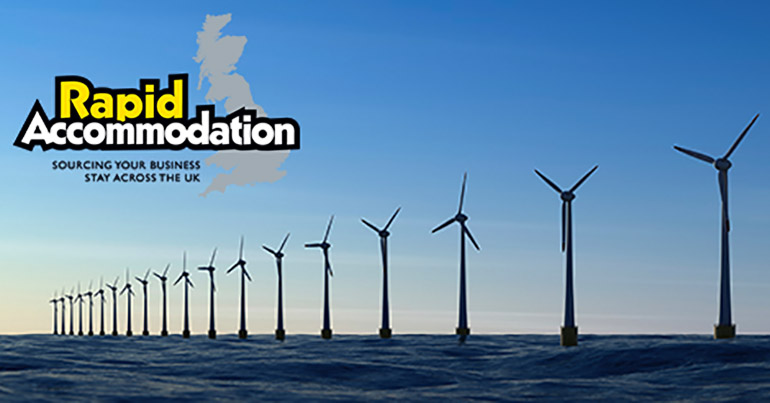 Accommodation for the offshore wind and renewables industry with Rapid Accommodation