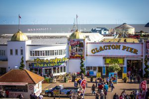Ideas for things to do on weather days. Image: Clacton Pier by Angel Escartin Casas CC BY-SA 2.0